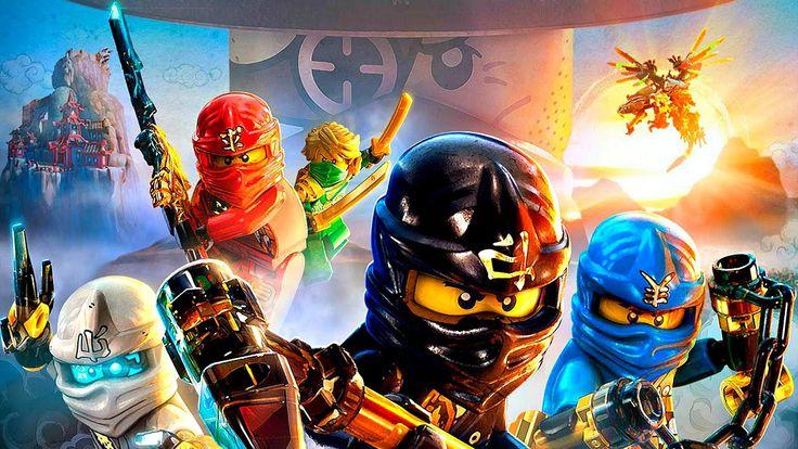 Лего Ниндзя го мультики.Сражение с Генералом Анаконд.Игра Ниндзя го.#Leg...