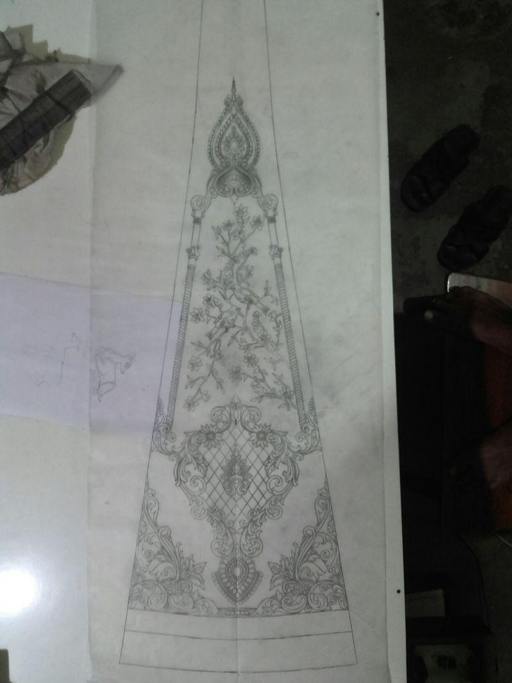 Lahenga artwork