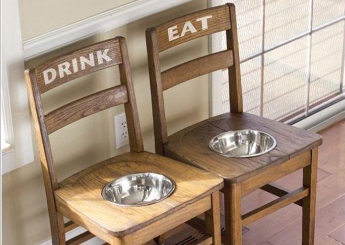 Новый взгляд на старые стулья – Своими руками