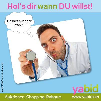 Immer noch die beste #Medizin gegen #Winterdepression: die unschlagbaren #Deals bei #Yabid! Hör' auf #Onkel Doktor! Hol's dir wann DU willst! www.yabid.net