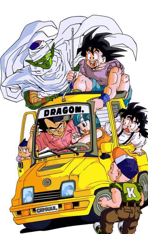 Dragon Ball Z Akira Toriyama art