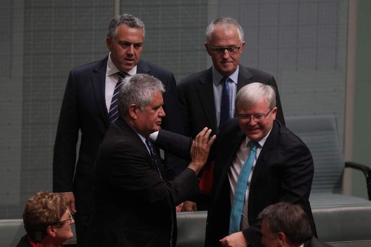 A great man and PM say  goodbye to politics. Thank you Kevin for your great contribution to the Labor Party and Australia. --------------------------------------------- http://www.smh.com.au/federal-politics/political-news/gotta-zip-former-prime-minister-kevin-rudds-emotional-last-supper-20131114-2xhhc.html