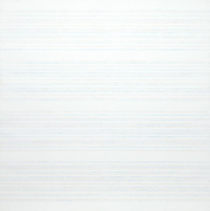 Agnes Martin Untitled No. 1. 1981