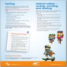 A collection of leaflets describing the things you need to know to help teach your child about staying safe on roads, cycling, walking, taking the bus and near railways.