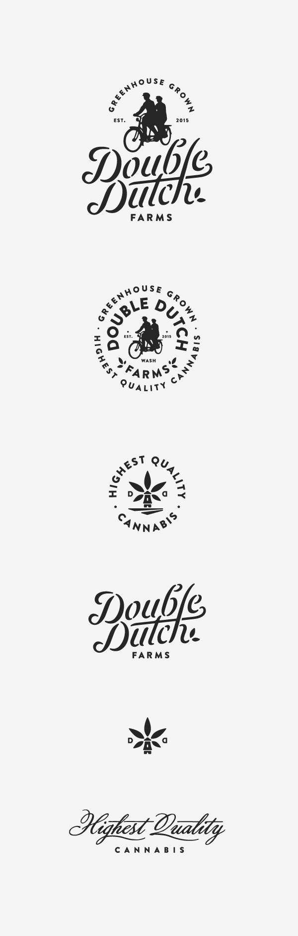 Double Dutch Farms Logos by Jared Jacob