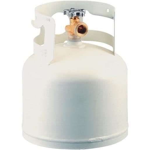 Worthington Cylinder 4.25Lb Propane Cylinder 281149 Unit: Each, Silver steel