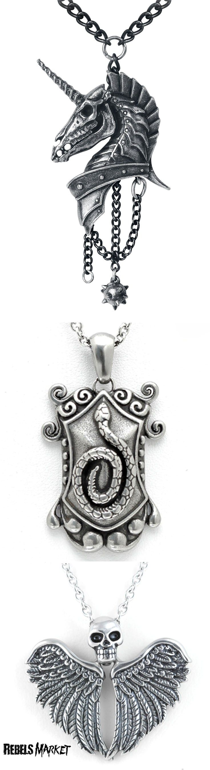 Shop goth jewelry at RebelsMarket.