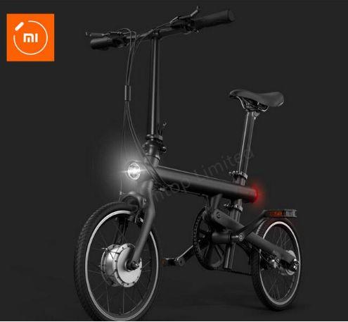 Xiaomi. Складной, смарт - электрический велосипед с литиевой батареей Panasonic, 1.8 '' экран монитора.