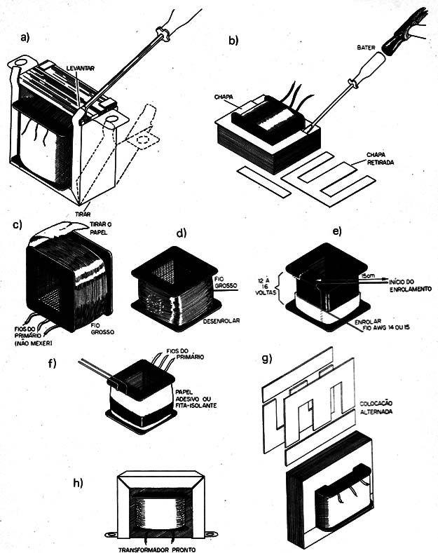 Figura 8 Adaptando O Transformador