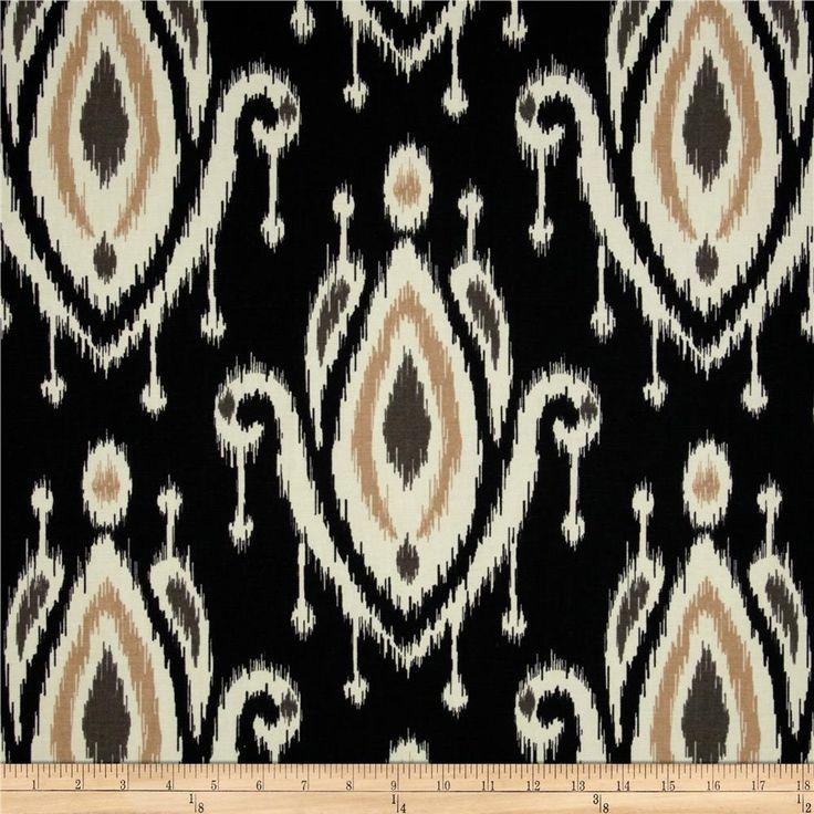 Tempo Surat Ikat Black Valance Curtains Pillow Beds And