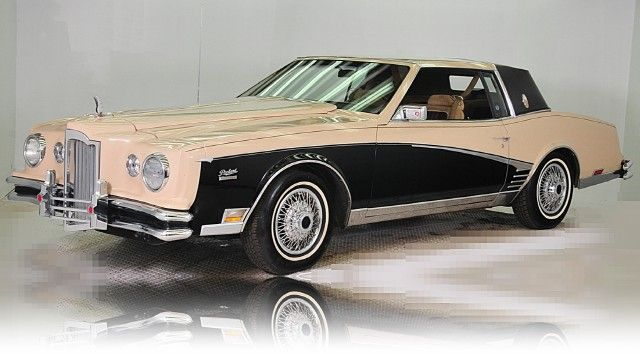 1982 Packard Sport Coupe, based on Buick Riviera ...