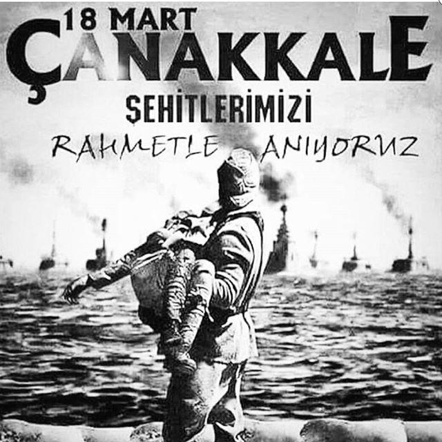 Şehitlerimizin Ruhu Şaad Olsun 18 Mart Zaferimiz Kutlu Olsun.. #18mart #canakkalegecilmez #canakkale