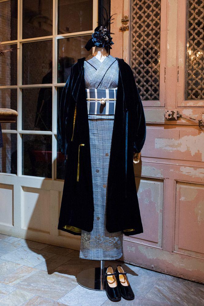 スタイリストの大森伃佑子さんが夢見た、1920年代から着想した黒と白の着物が並ぶ。ドゥーブルメゾンの展示販売会「Noir et Blanc」   FEATURE   FASHION   ファッション雑誌『装苑』のオフィシャルサイト ファッション、ビューティ、カルチャーなどの厳選した情報をお届け! 装苑ONLINE