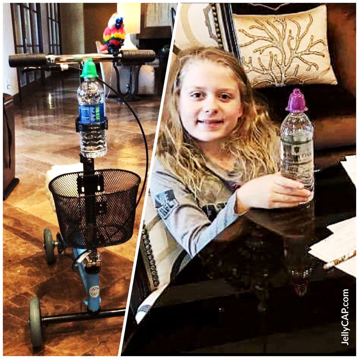 Thanks #Soleil for the Picture 😁  We are so glad to hear you are recovering and feeling much better 👍  #Kids #UsingJellyCAP #Recovering #GreatPicture #AssistingKids #DrinkWater #FunDay #Love #Traveling #Customers #JellyCAP