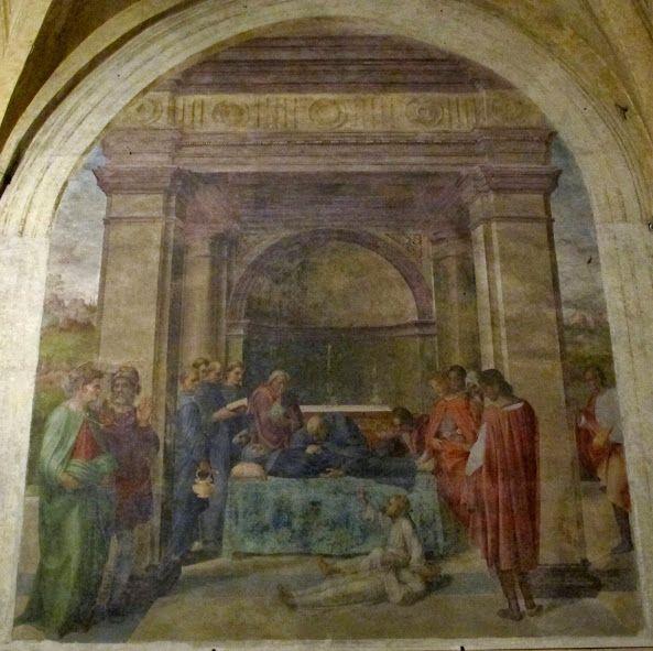 I funerali di san Filippo Benizzi (1509-1510; Firenze, Santissima Annunziata)