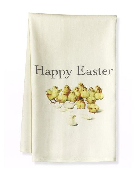 Chick Towels, how sweet! #Easter #WilliamsSonoma #FayetteMall