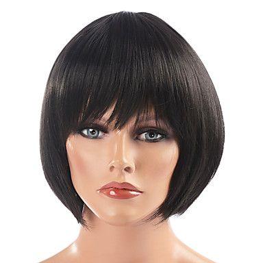 Classic Bob Haircut Wig(Black)   פאות מתוך בריאות ויופי   chinabuy.co.il