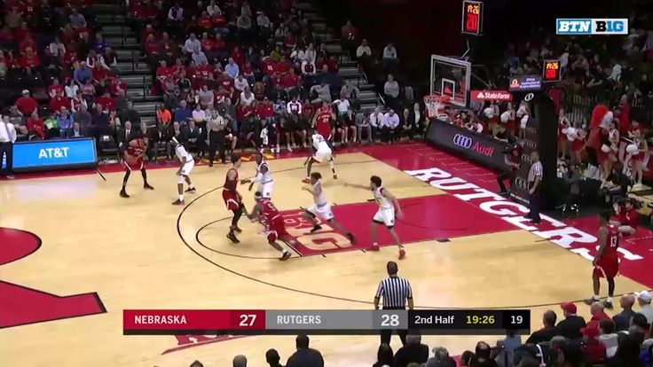 Big Ten Basketball Highlights: Nebraska at Rutgers