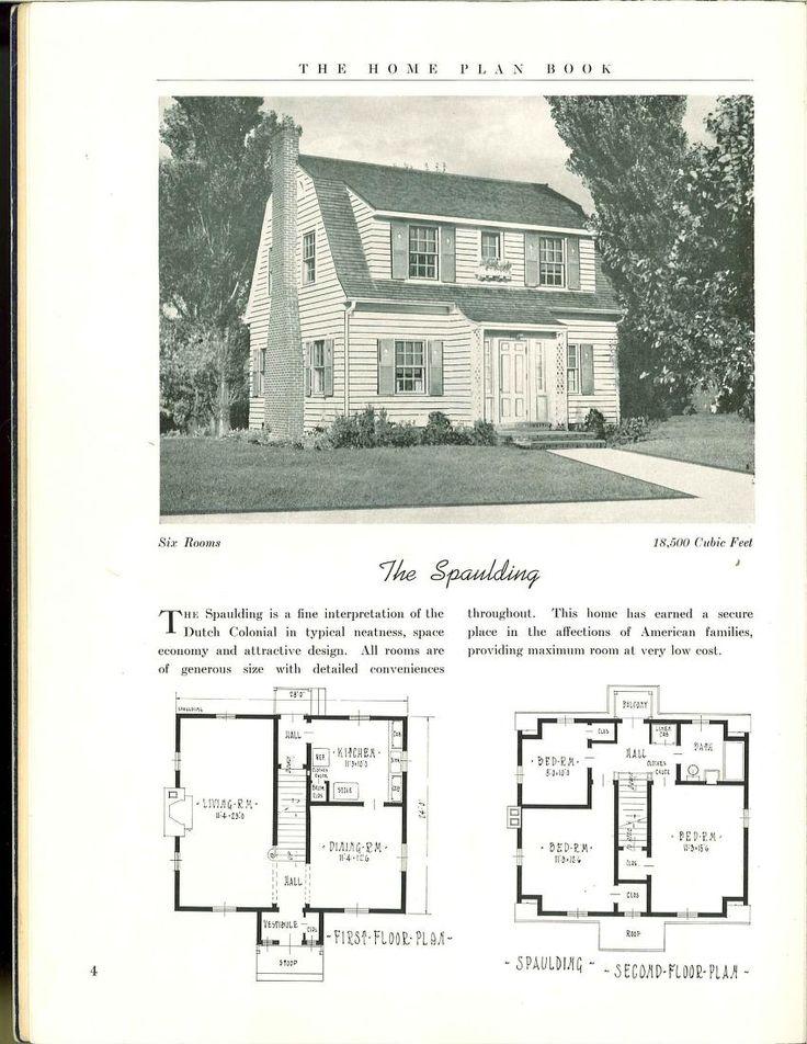 505 best VinTagE HOUSE PlanS~1930s images on Pinterest | Vintage ...