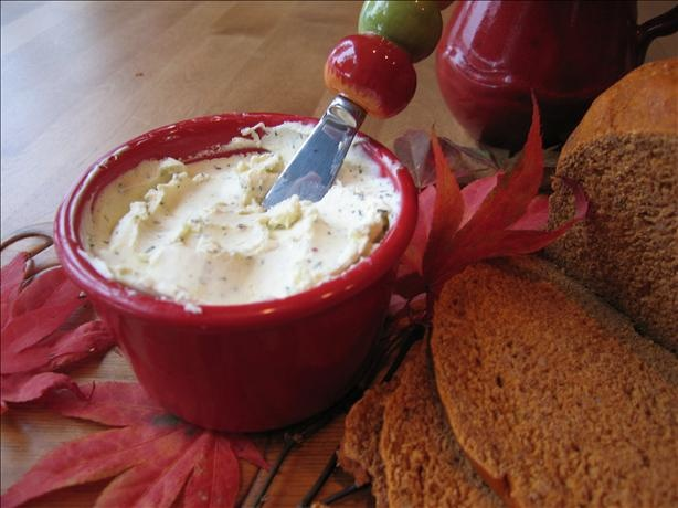 "Garlic Boursin Cheese Spread (otherwise known as ""crack on a cracker"")"