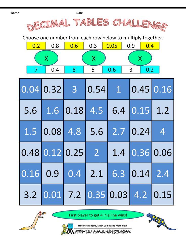 math multiplication games decimal tables challenge math math multiplication games sixth. Black Bedroom Furniture Sets. Home Design Ideas