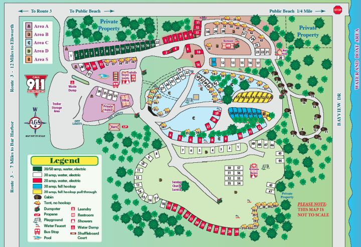 Wild Acres Campground Site Map World Map 07