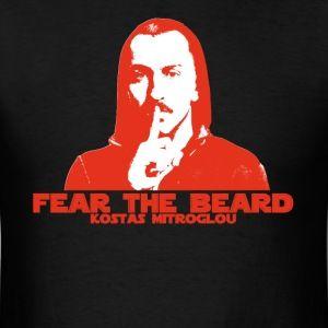 Fear the Beard Mitroglou Men's T-Shirt (Black)