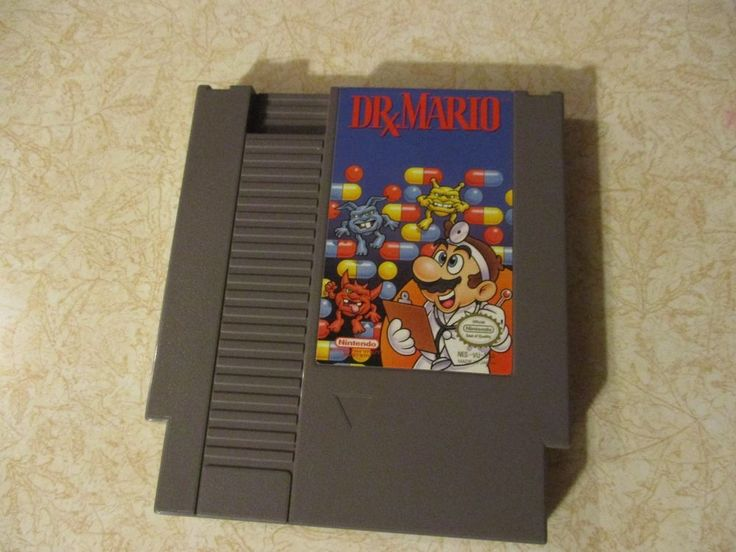 Dr. Mario NES Nintendo Entertainment System Cartridge Only Tested