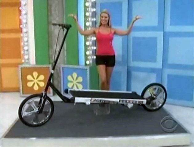 Treadmill Bike on the Price Is Right.