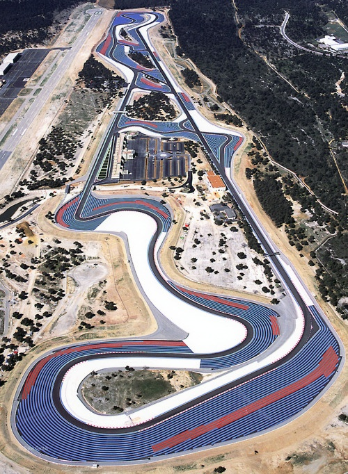 Le Castellet. I've raced on the old version and the present version and it is still amazing.