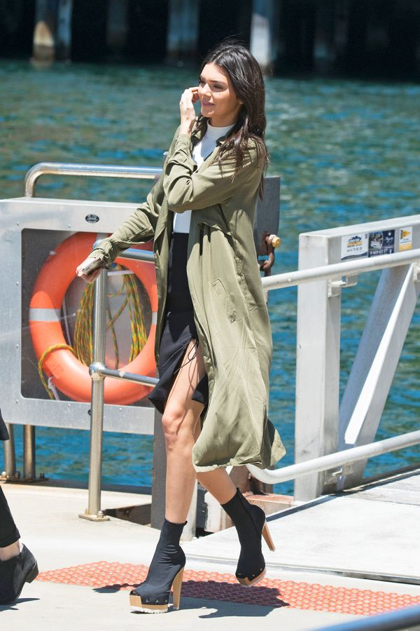 You can score Kendall Jenner's trench for $48