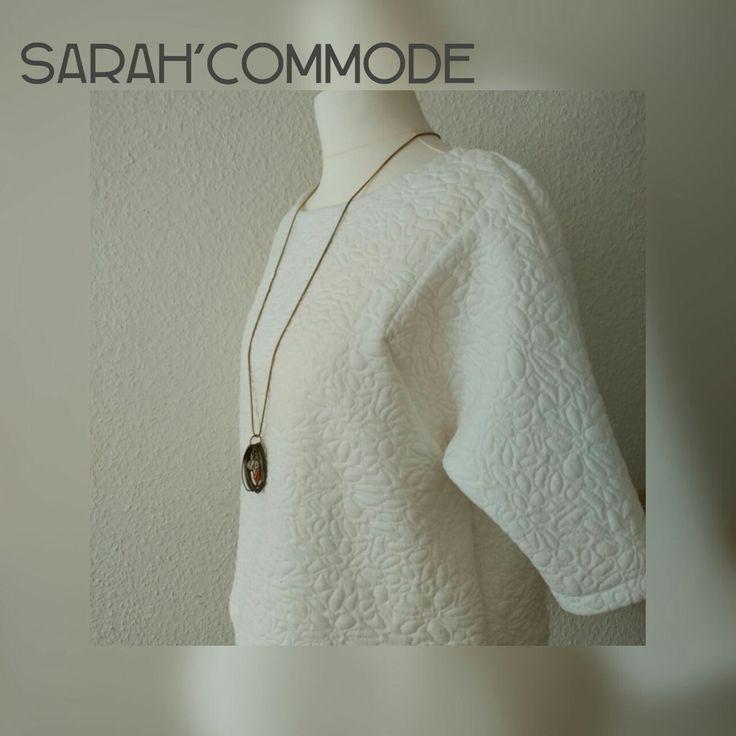 Le sweat fashion style made by me Coton matelassé by Mondial tissu