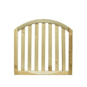 Grange Planed Timber Dome Gate (H)900mm (W)900mm Grange Planed Timber Dome Gate (H)900mm (W)900mm.This dome gate is made of planed timber and will look great in any outdoor space. Its pressure treated treatment has been applied to protect against ex http://www.MightGet.com/april-2017-1/grange-planed-timber-dome-gate-h-900mm-w-900mm.asp