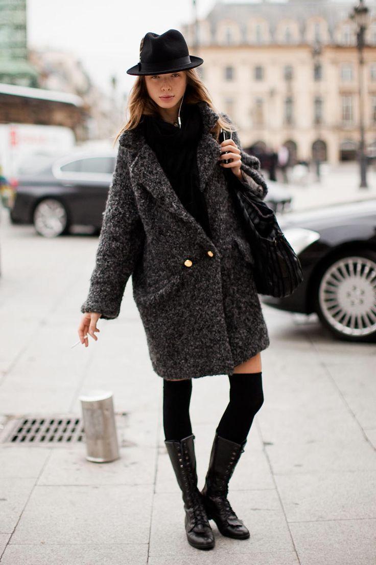 street-style-oversize-coat-hat