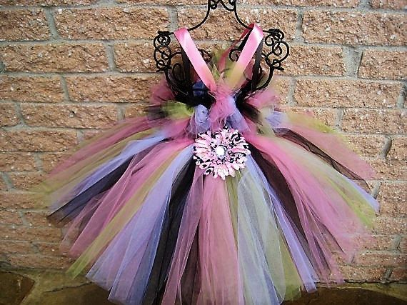 CAMOUFLAGE TUTU DRESS  Baby Girl Camouflage  Pageant by ElsaSieron