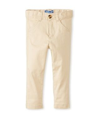 55% OFF Andy & Evan Boy's Oh-What-A-Twill Pant (Beige)
