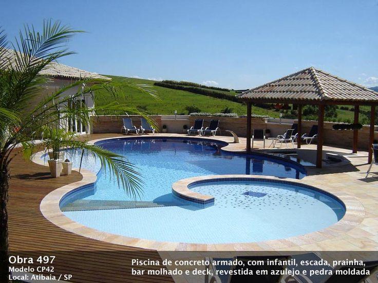 25 melhores ideias de piscina de alvenaria no pinterest for Piscine 3x5