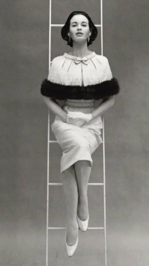 Mainbocher. Gloria Vanderbilt  by Richard Avedon 1955. by queen