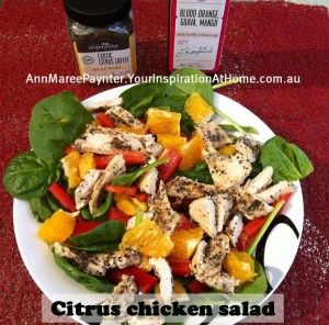 Citrus+chicken+salad