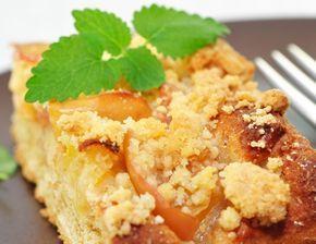 Rezept für Marillenkuchen mit Streusel