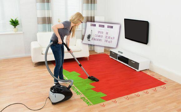 """""""AR-Check entwickelt eine einzigartige Augmented Reality basierte Reinigungstechnologie für die professionelle Gebäudereinigung. Eine Datenbrille zeigt der jeweiligen Reinigungskraft visuell an, welche Aufgaben zu erledigen sind"""", sagt AR-Check-Macher Martin Cudzilo."""