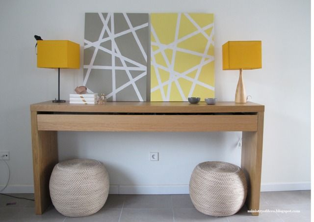 FAÇA VOCÊ MESMA: quadro decorativo para sua sala - Achados de Decoração