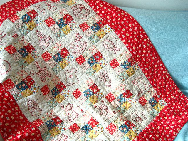 Baby quilt | Flickr - Photo Sharing!