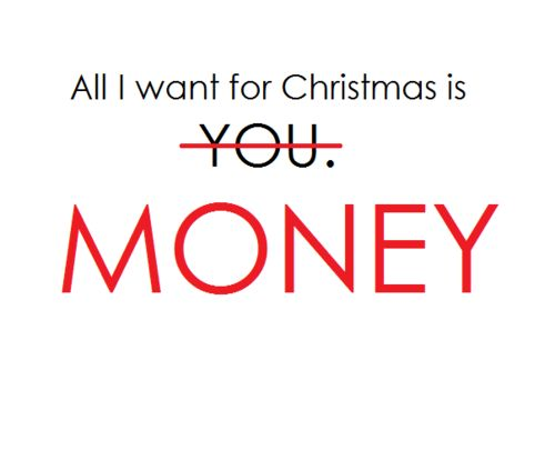 Good Attention Grabber??? All I want for Christmas...?