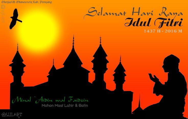 Selamat Hari Raya Idul Fitri 1437 H Minal 'Aidin wal Faizin, Mohon maaf lahir dan batin .. Semoga amal ibadah kita selalu di terima oleh sang pencipta alam semesta Allah SWT. #ramadhan2016