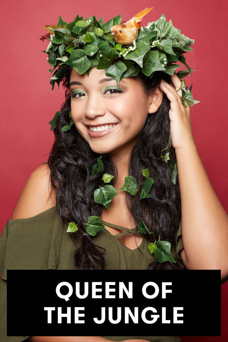 Your favorite festival trend just got a Halloween upgrade. Make one yourself for the ultimate last-minute costume that no one else will have.  Find out to make this tropical, jungle flower crown exclusively on Seventeen!