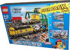 Lego® 66405 Güterzug Superpack = 7939+7937+7499+7895 NEU+OVP