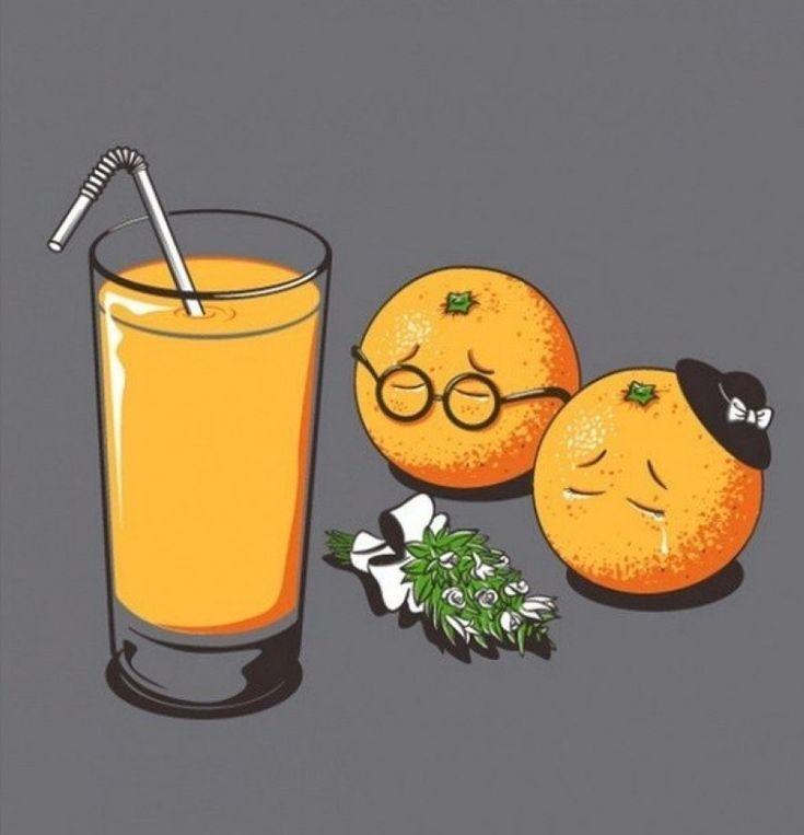 Смешные картинки про сок