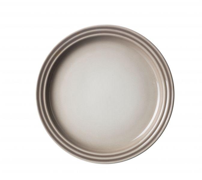 Le Creuset Lunchtallrik 23 cm Nutmeg
