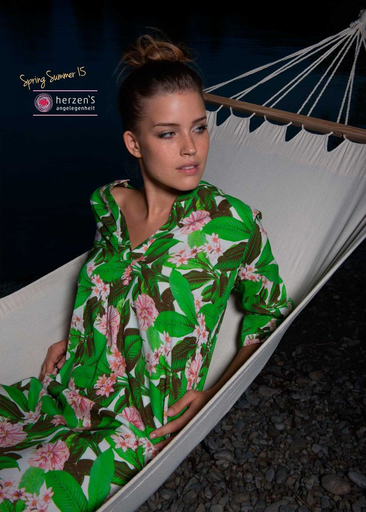 6151-6025 silk tunika 100% #silk soft and fresh beauty dress / tunika #herzensangelegenheit
